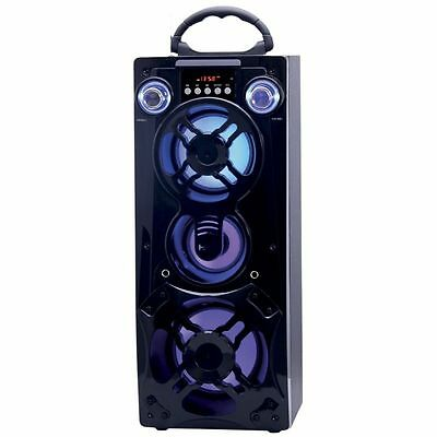 Altavoces Bluetooth Karaoke Altavoz Portatil Recargable Usb Microfono Colores