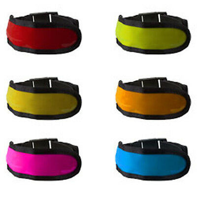 LED Leuchtband Reflektorband Reflexband Sicherheitsband Safety Sport Light Flash