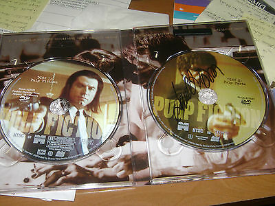 Samuel L Jackson signed Pulp Fiction Collector's Edition DVD