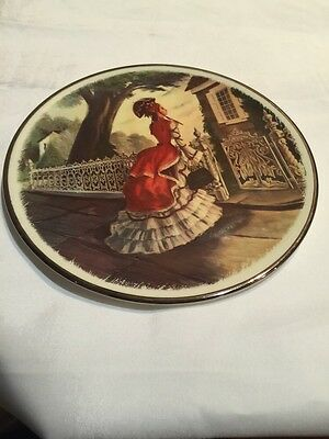 National Association Of Avon Clubs Collectible Avon Plate 1977