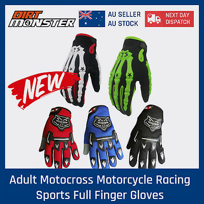 Adult Motocross motorcycle Racing sports full finger Gloves Riding MX dirt bike