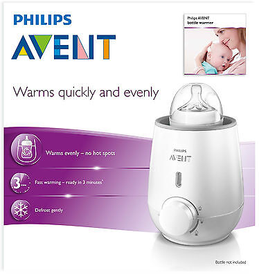 PHILIPS AVENT ELECTRIC BOTTLE WARMER - warms baby food milk bottle