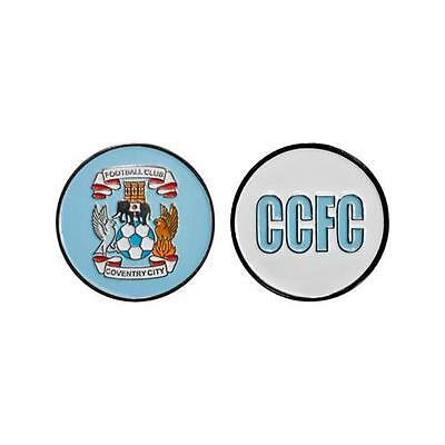 Coventry City Fc Ball Marker CCFC Blue Round Golf Football Match Game Player