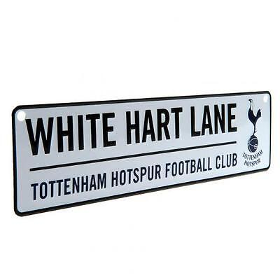 Tottenham Hotspur Fc Hanging Spurs Street Sign Metal Window Door White Hart Lane