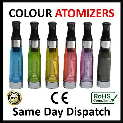 New Colour Atomiser Clearomiser E Cig Tank Vapour Pen Atomizer Clearomizer Hq Uk