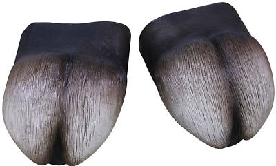 Morris Costumes Hooves Latex Cover Feet One Size. TB25329
