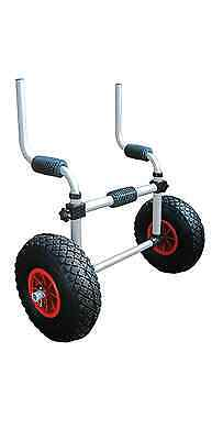 Sit On Top Kayak Trolley - Inflatable Tyres - ** SALE ** - Riber