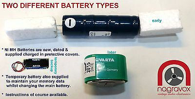 Studer A810 battery replacement kit - backup battery