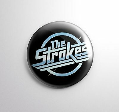 THE STROKES -  Pinbacks Badge Button 25mm 1'' ---