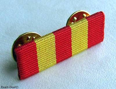 Canada Canadian Fire Services Exemplary Service Medal Ribbon Bar Pin