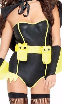 Superhero Utility Belt Double Compartments Pockets Costume 992306