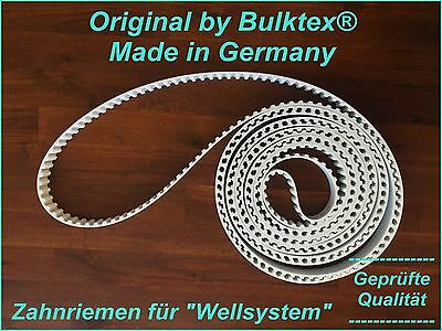 Original by Bulktex® für Wellsystem Zahnriemen Keilriemen Hydro Jet Medical Neu