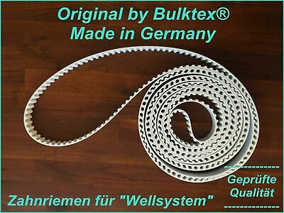 Original by Bulktex® Wellsystem Medical for therapy Fitness Zahnflachriemen Neu