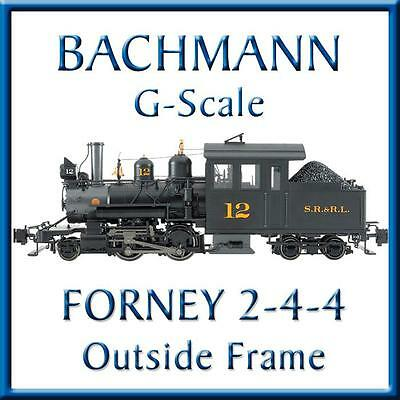 Bachmann 80996 Sandy River & Rangeley Lake #12 Outside Frame Forney-G Scale