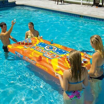 Wow Watersports Pong Table Inflatable Pool Toy Tube (15-2020) Fun Summer