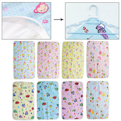 Baby Infant Home&Travel Waterproof Urine Mat Cover Burp Changing Pad Reusable