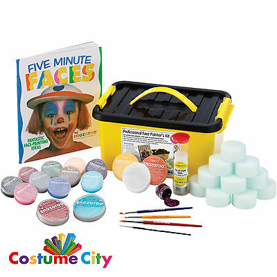 Snazaroo Professional Face Painters Kit Party Make Up Face Paint Activity