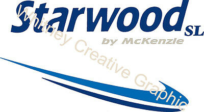 """ITASCA RV Word With logo on left  Lettering decal Graphic ANY COLOR 24/""""x3.2/"""""""