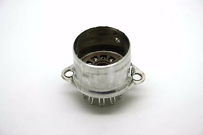 Genuine 9 Pin Belton Tube Vacuum Socket Shield Base 12Ax7 12Au7 12At7 El84 5751