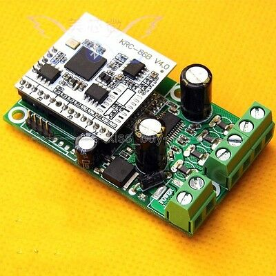 Wireless Bluetooth 4.0 stereo 15w+15w class D power amplifier board module