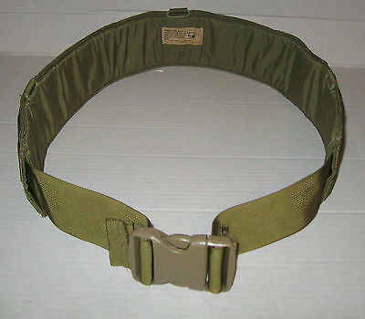Eagle Industries Padded War Belt Khaki Sz 32-40 NEW!!