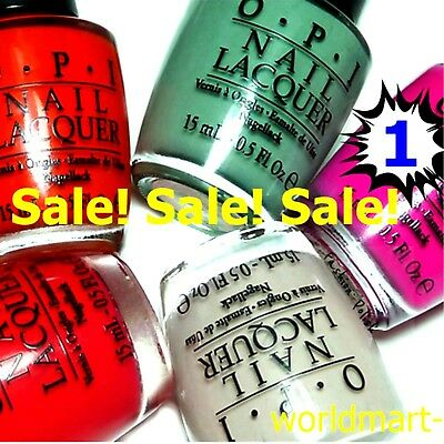 *SALE OPI Nail Polish Lacquer Base Top Coat 0.5fl.oz / Part 1 / Choose Any Color