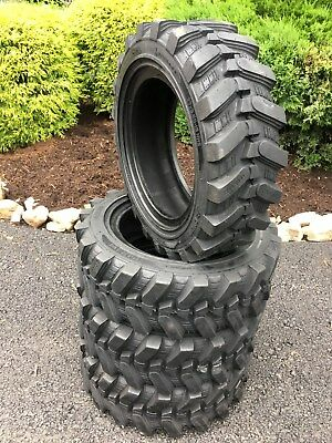 4-27X8.50-15 HD Skid Steer Tires-27-8.50-15- Camso sks532 - for Bobcat & more