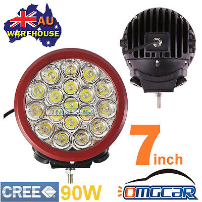 "1 Pcs 7"" 90W Cree Led Driving Light Spot Offroad Truck Work 4Wd Ute Replace Hid"