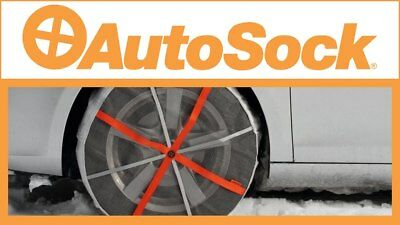 NEW AUTO / SNOW SOCKS  AS540 Traction Aid Chain Genuine AUTOSOCK Easy Fit 540