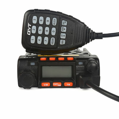 QYT KT-8900 Mini Dual Band Car Radio 136-174/400-480MHz 25W/20W Transceiver