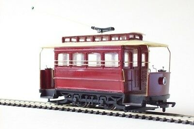 On30 7mm Brill Demi Tram Car with open ends - Smallbrook studio