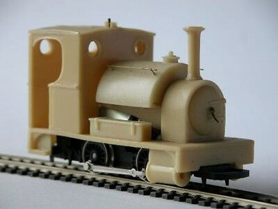 On30 7mm NG 'CLIO' Saddle tank locomotive body kit - Smallbrook studio - P3