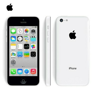 Apple iPhone 5c 32GB Factory Unlocked Smartphone -White A+++