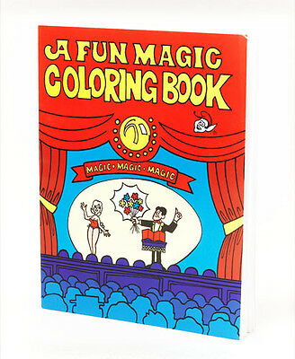 A4 Magic Trick Colouring Book Novelty Joke Present As Seen On Eastenders!!
