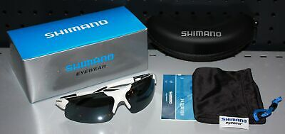 Shimano Stradic White Sonnenbrille Polbrille Race Brille NEW