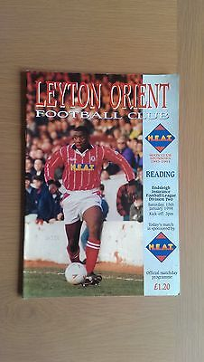Leyton Orient V Reading 1993-94