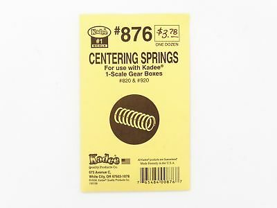 #1-Scale Centering Springs for Kadee Gear Boxes (12) - Kadee #876 <  vmf121