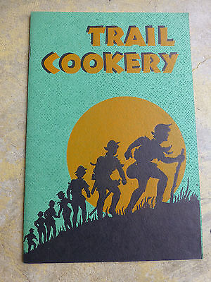 Trail Cookery For Girl Scouts Booklet 1940's