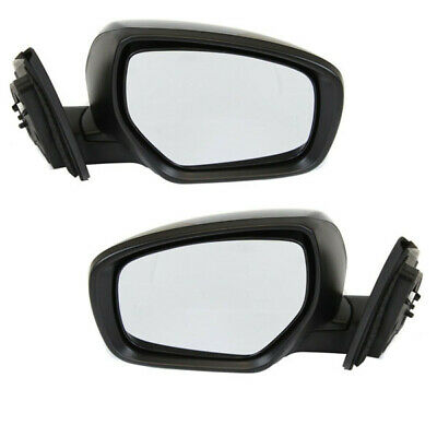 10-15 CX9 Power Heated w/Signal Lamp Manual Fold Mirror Left Right Side SET PAIR