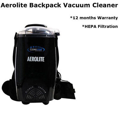 Aerolite Lightweight Backpack CLEANSTAR Snow White, Burgundy Colour Vac Cleaner