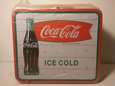 COCA-COLA TIN LUNCH BOX, Ice Cold SIGN OF GOOD TASTE, Vintage style, NEW