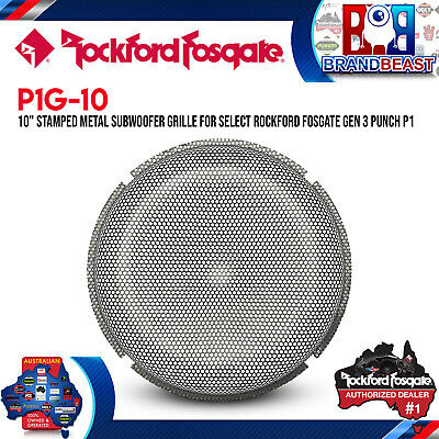 """Rockford Fosgate P1G-10 10"""" Stamped Mesh Grille Insert For GEN-3 P1 Subwoofers"""