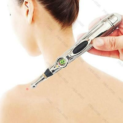 Electro Magnetic Acupuncture Pen Needle Free Pain Relief Massage Therapy Gift