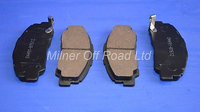 Rocky F75 2.8D//TD LWB 1984-04//1993 4 For Daihatsu Fourtrak Front Brake Pads