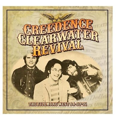 CREEDENCE CLEARWATER REVIVAL - THE FILLMORE WEST 04-07-71 (New & Sealed) CD