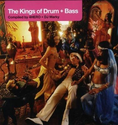 "THE KINGS OF DRUM & BASS Compiled by 4Hero & DJ Marky (NEW) 3x12"" LP Inc Lemon D"