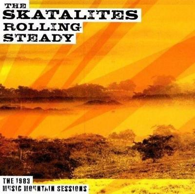 THE SKATALITES -  ROLLING STEADY 1983 MUSIC MOUNTAIN SESSIONS Blue Vinyl LP (NEW