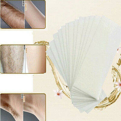 With special thick non-woven wax hair removal Waxing paper 100 hair depilation