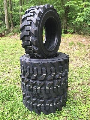 4 NEW Carlisle Guard Dog 10-16.5 USA Skid Steer Tires for Bobcat 10X16.5-10 ply