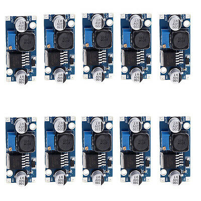 10pcs LM2596S DC-DC Buck Converter Adjustable Power Supply Step Down Module OU